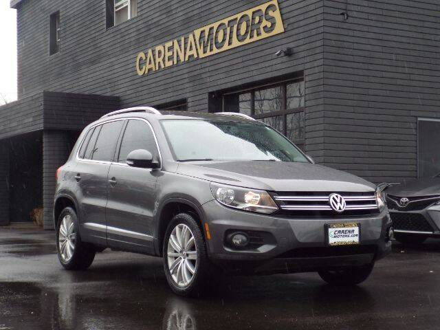 2014 Volkswagen Tiguan for sale at Carena Motors in Twinsburg OH