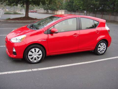 2014 Toyota Prius c for sale at Western Auto Brokers in Lynnwood WA