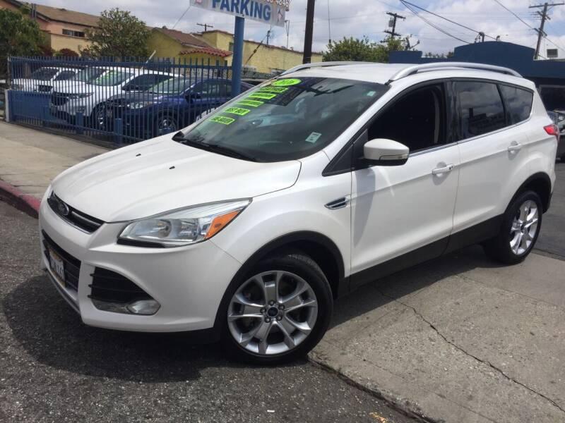 2016 Ford Escape for sale at 2955 FIRESTONE BLVD in South Gate CA