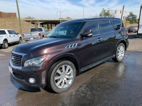 2011 Infiniti QX56 for sale at McManus Motors in Wheat Ridge CO