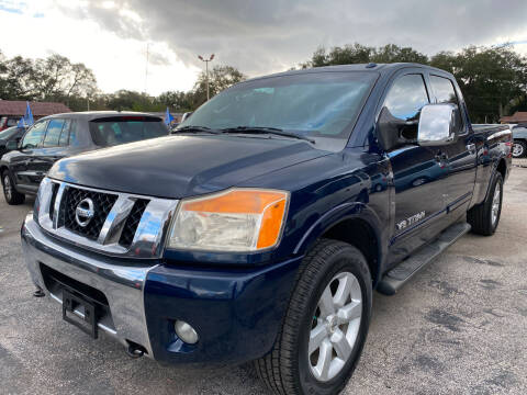 2008 Nissan Titan for sale at Budget Motorcars in Tampa FL