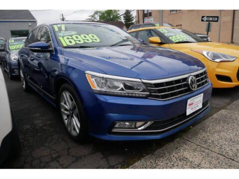 2017 Volkswagen Passat for sale at M & R Auto Sales INC. in North Plainfield NJ