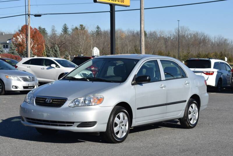 2008 Toyota Corolla for sale at Broadway Garage of Columbia County Inc. in Hudson NY