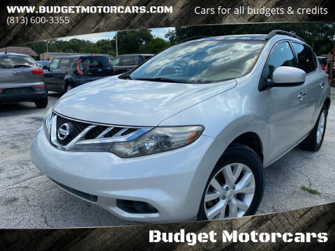 2011 Nissan Murano for sale at Budget Motorcars in Tampa FL