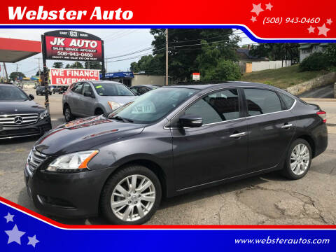 2013 Nissan Sentra for sale at Webster Auto Sales in Webster MA