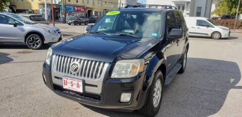 2008 Mercury Mariner for sale at Union Street Auto in Manchester NH