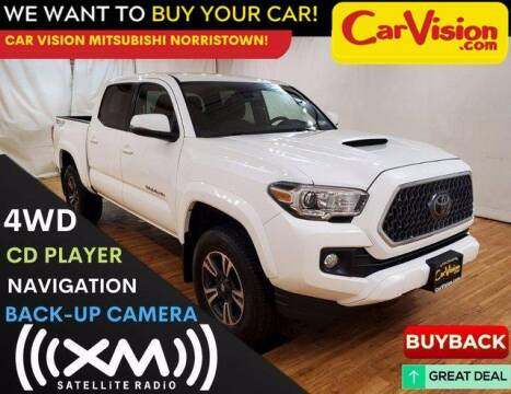 2018 Toyota Tacoma for sale at Car Vision Mitsubishi Norristown in Trooper PA