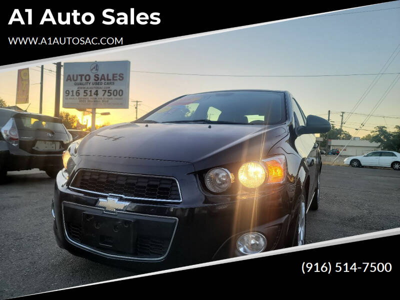 2015 Chevrolet Sonic for sale at A1 Auto Sales in Sacramento CA