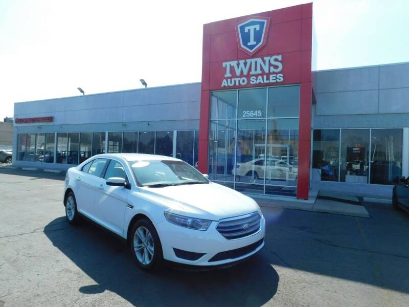 2018 Ford Taurus for sale at Twins Auto Sales Inc Redford 1 in Redford MI