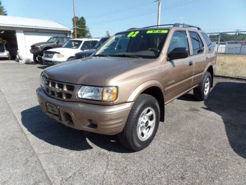 2002 Isuzu Rodeo for sale at Gold Key Motors in Centralia WA