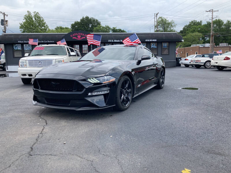 2020 Ford Mustang for sale at Savannah Motors in Belleville IL