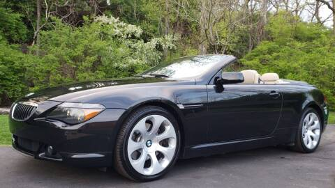 2005 BMW 6 Series for sale at The Motor Collection in Columbus OH