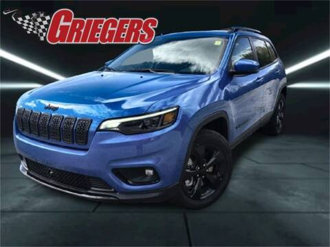 2021 Jeep Cherokee for sale at GRIEGER'S MOTOR SALES CHRYSLER DODGE JEEP RAM in Valparaiso IN