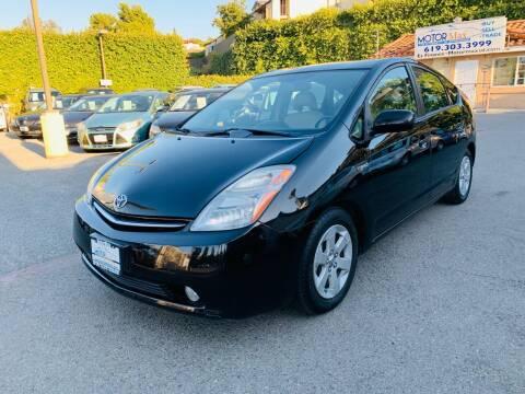 2007 Toyota Prius for sale at MotorMax in Lemon Grove CA