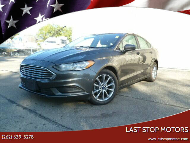 2017 Ford Fusion for sale at Last Stop Motors in Racine WI