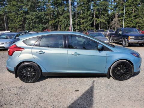 2012 Ford Focus for sale at WILSON MOTORS in Spanaway WA