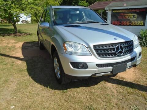 2006 Mercedes-Benz M-Class for sale at Hot Deals Auto LLC in Rock Hill SC