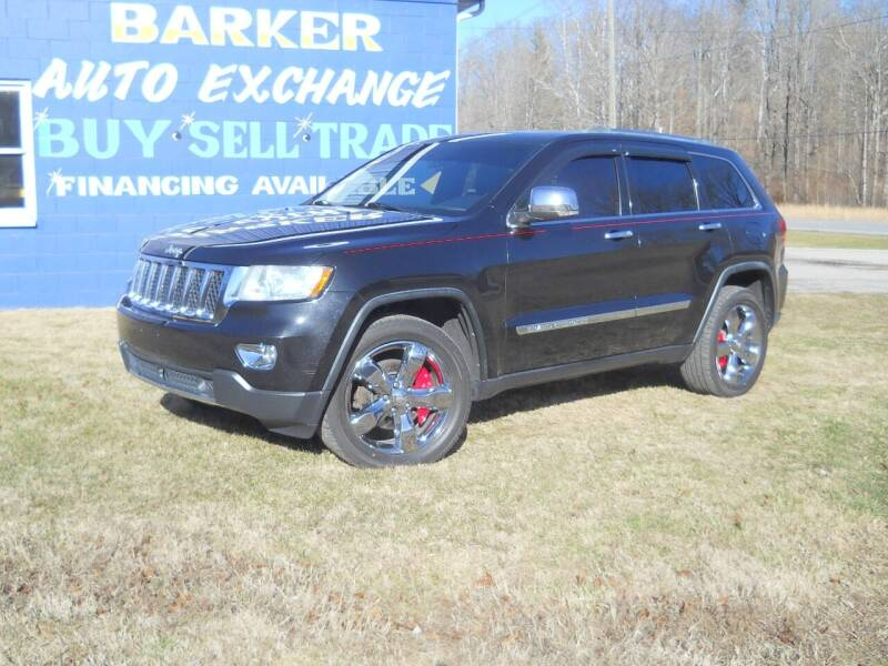 2012 Jeep Grand Cherokee for sale at BARKER AUTO EXCHANGE in Spencer IN