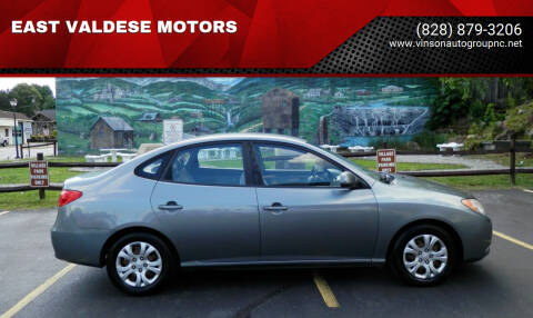 2010 Hyundai Elantra for sale at EAST VALDESE MOTORS in Valdese NC