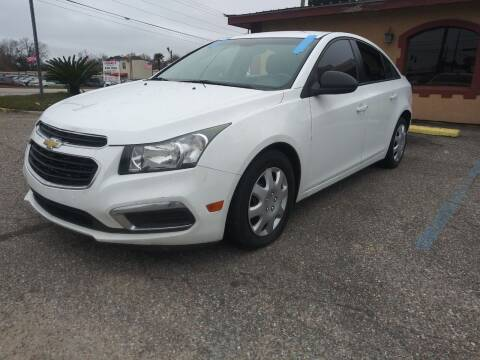 2015 Chevrolet Cruze for sale at Best Buy Autos in Mobile AL