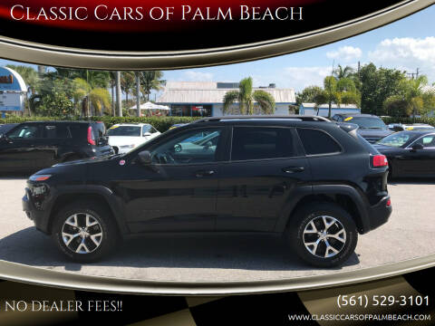 2016 Jeep Cherokee for sale at Classic Cars of Palm Beach in Jupiter FL