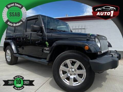 2016 Jeep Wrangler Unlimited for sale at Street Smart Auto Brokers in Colorado Springs CO