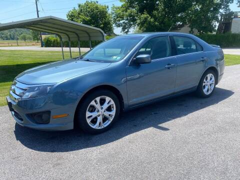 2012 Ford Fusion for sale at Finish Line Auto Sales in Thomasville PA