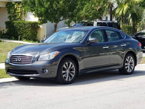 2012 Infiniti M37 for sale at Easy Finance Motors in West Park FL