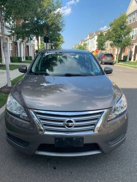 2015 Nissan Sentra for sale at Pak1 Trading LLC in South Hackensack NJ