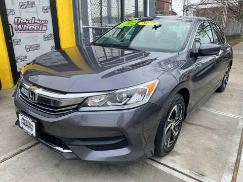 2017 Honda Accord for sale at DEALS ON WHEELS in Newark NJ