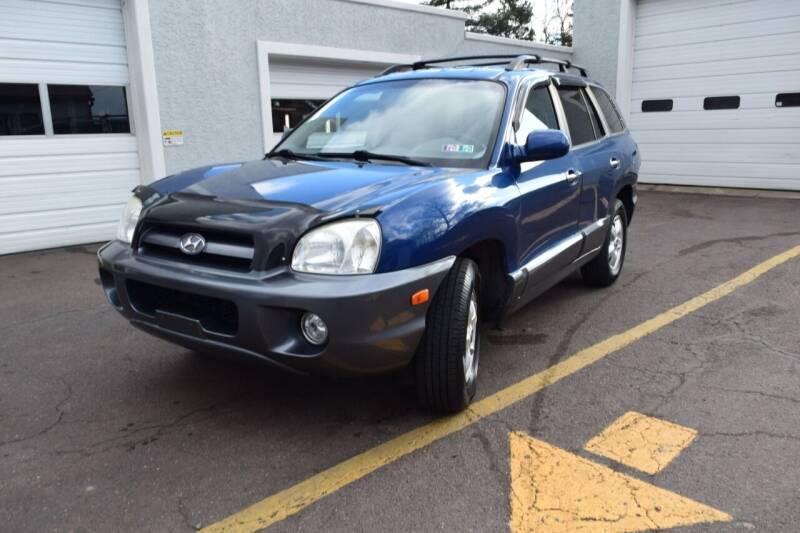 2006 Hyundai Santa Fe for sale at L&J AUTO SALES in Birdsboro PA