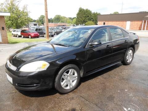 2012 Chevrolet Impala for sale at granite motor co inc in Hudson NC