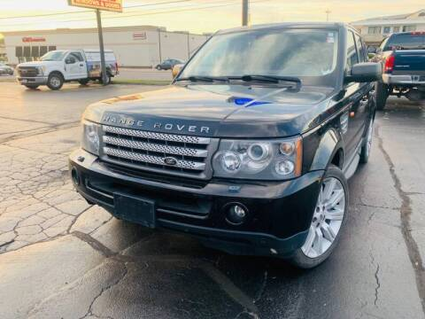 2008 Land Rover Range Rover Sport for sale at Quality Auto Sales And Service Inc in Westchester IL