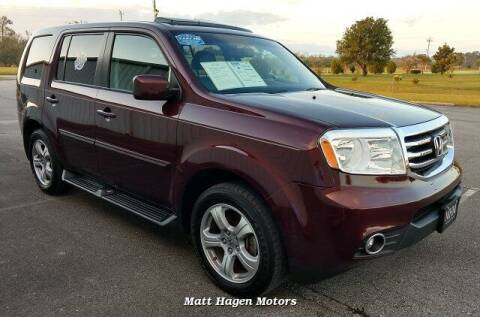 2014 Honda Pilot for sale at Matt Hagen Motors in Newport NC