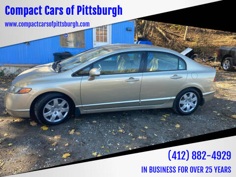 2008 Honda Civic for sale at Compact Cars of Pittsburgh in Pittsburgh PA