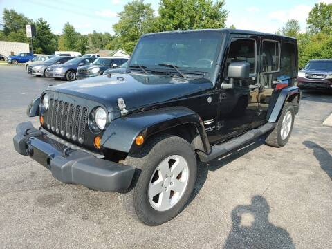 2008 Jeep Wrangler Unlimited for sale at Cruisin' Auto Sales in Madison IN