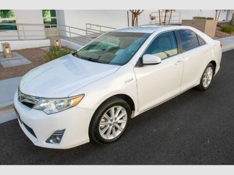 2012 Toyota Camry Hybrid for sale at REVEURO in Las Vegas NV