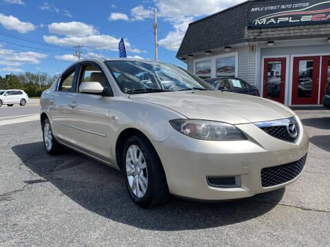 2008 Mazda MAZDA3 for sale at Maple Street Auto Center in Marlborough MA