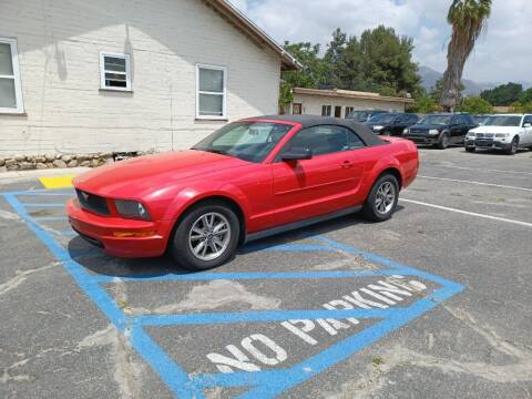 2005 Ford Mustang for sale at RN AUTO GROUP in San Bernardino CA
