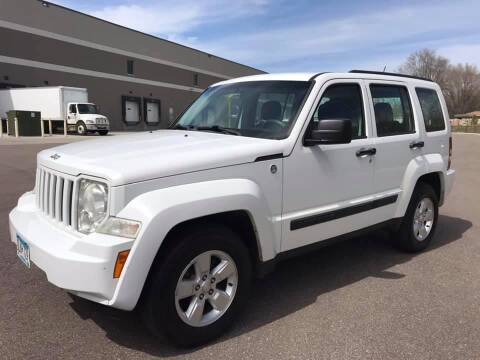 2012 Jeep Liberty for sale at Angies Auto Sales LLC in Newport MN