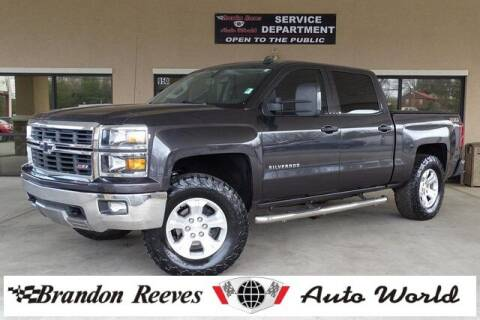 2014 Chevrolet Silverado 1500 for sale at Brandon Reeves Auto World in Monroe NC