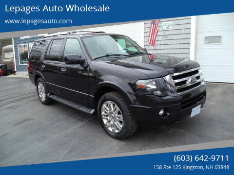 2014 Ford Expedition for sale at Lepages Auto Wholesale in Kingston NH