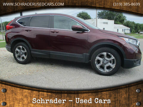 2019 Honda CR-V for sale at Schrader - Used Cars in Mt Pleasant IA