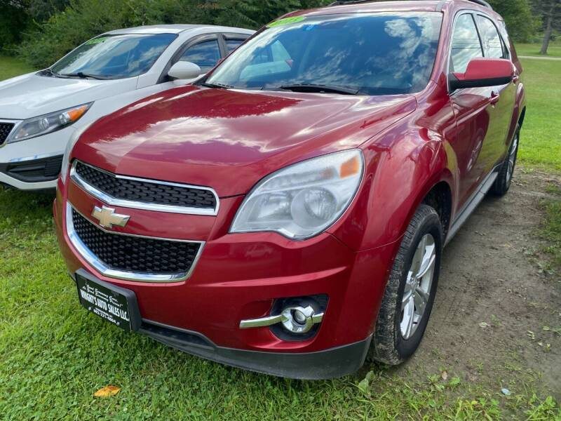 2015 Chevrolet Equinox for sale at Wright's Auto Sales LLC in Townshend VT