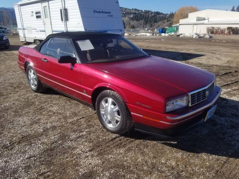 1993 Cadillac Allante for sale at AUTO BROKER CENTER in Lolo MT