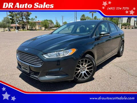 2014 Ford Fusion for sale at DR Auto Sales in Scottsdale AZ