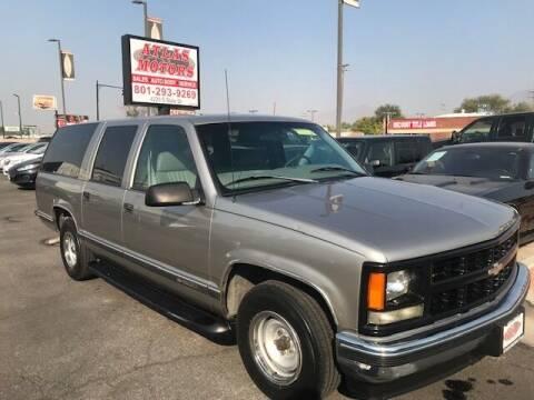 1999 Chevrolet Suburban for sale at ATLAS MOTORS INC in Salt Lake City UT