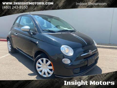 2013 FIAT 500 for sale at Insight Motors in Tempe AZ