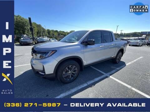 2021 Honda Ridgeline for sale at Impex Auto Sales in Greensboro NC