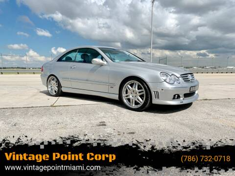 2003 Mercedes-Benz CLK for sale at Vintage Point Corp in Miami FL